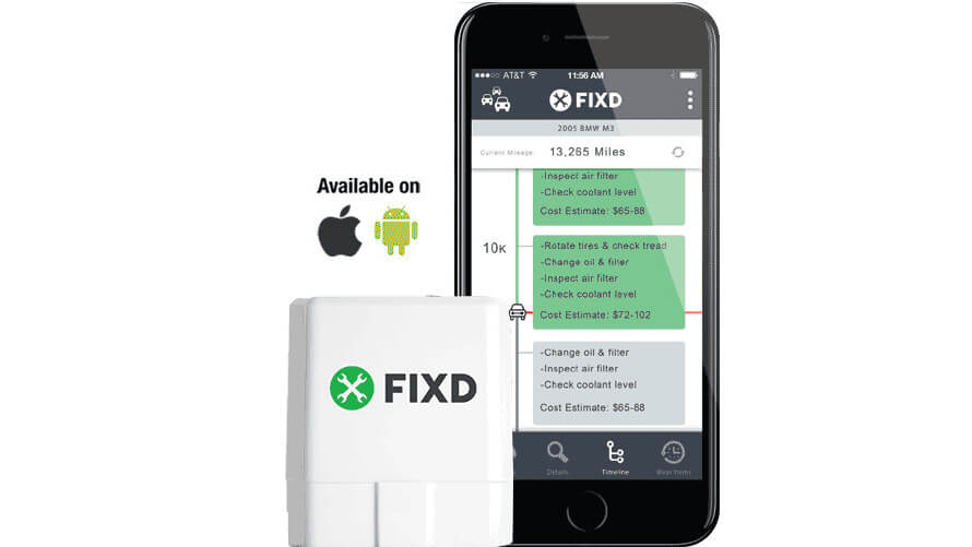 FIXD Review - product with app 1