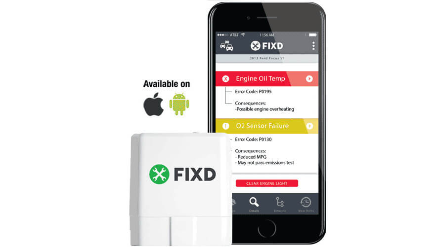 FIXD Review - product with app 2