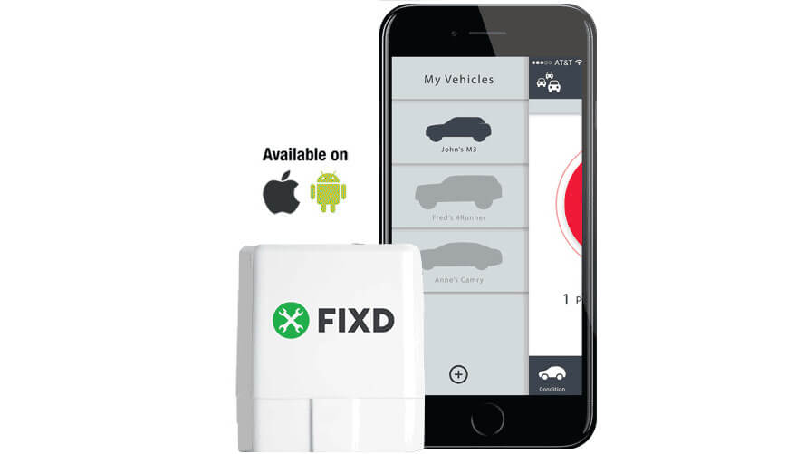 FIXD Review - product with app 3