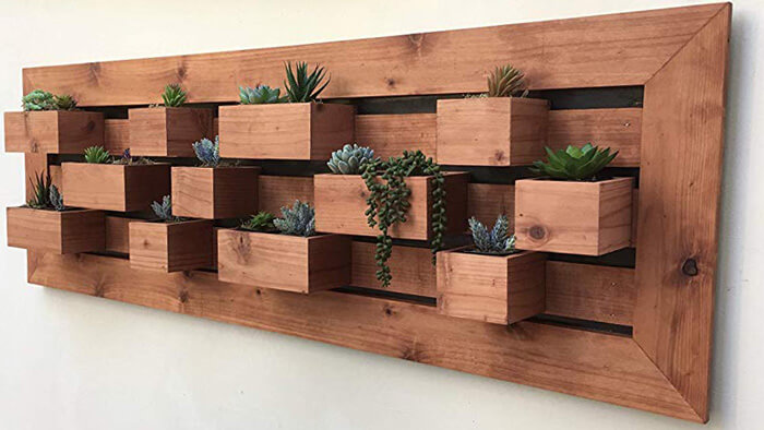 Living Wall Planter, Garden Wall Art