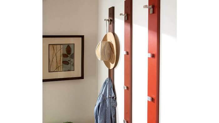DIY Hat and Coat Rack