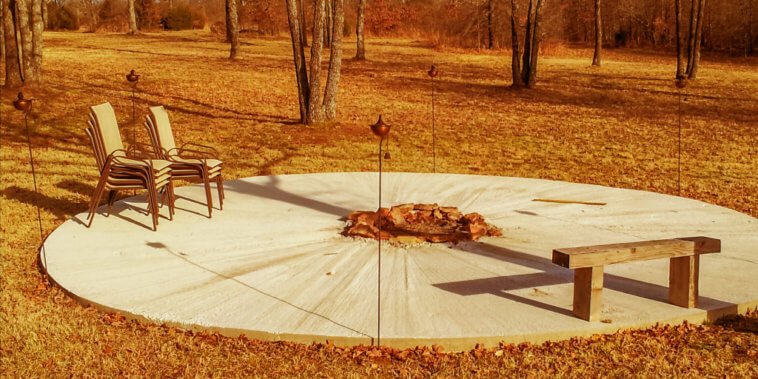 Outdoor Fire Pit_Step 1
